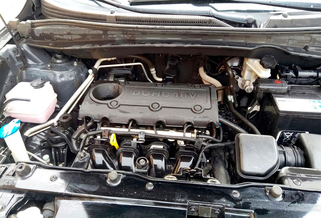 Капитальный ремонт двигателя G4KD на Hyundai ix35